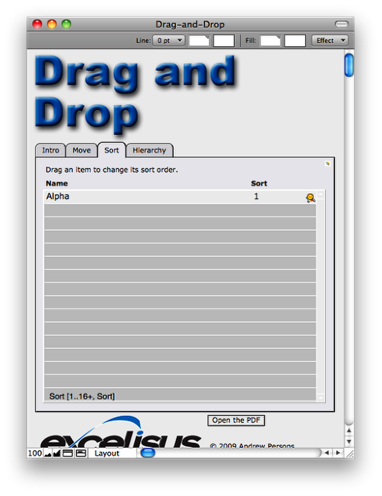 Drag and Drop List or Portal Sorting (2/6)