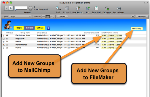 MailChimp Integration with FileMaker Pro – Part 2 of 3 (5/6)