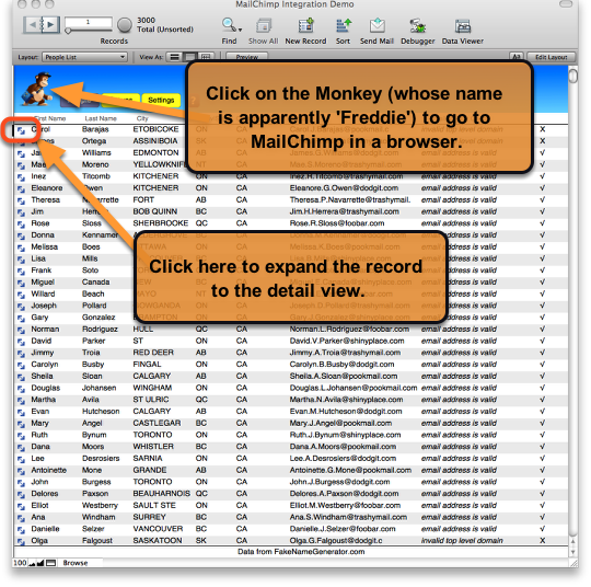 MailChimp Integration with FileMaker Pro – Part 2 of 3 (3/6)
