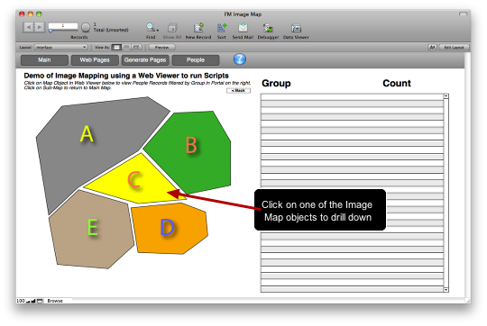 FileMaker and Image Maps in a Web Viewer (4/6)