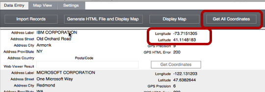 Creating Google Cluster Maps from FileMaker (5/6)