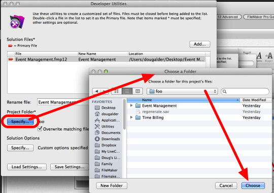 Using FileMaker 12 Runtime files with FileMaker Go 12 (5/6)