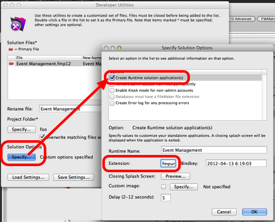 Using FileMaker 12 Runtime files with FileMaker Go 12 (6/6)