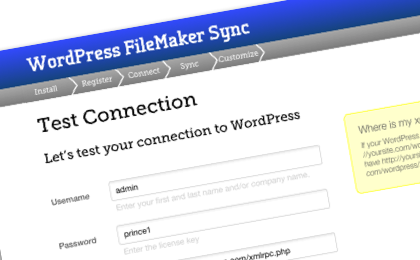 FileMaker-Wordpress-Sync