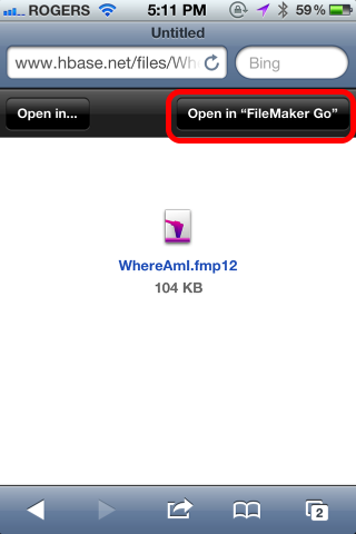 Where Am I? Using FileMaker Go 12 to track your Location (1/6)