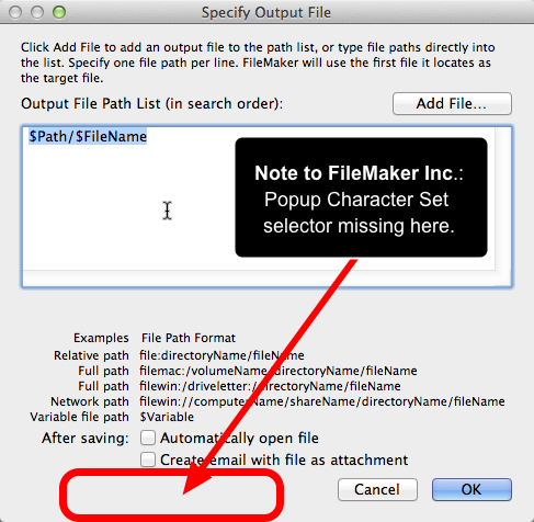 UTF, WTF! Writing HTML and JSON from FileMaker | HomeBase Software