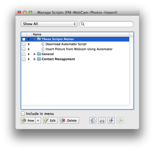 How to Automate Webcam Photo Capture Within Filemaker Pro (Mac) (5/6)