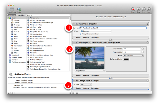 How to Automate Webcam Photo Capture Within Filemaker Pro (Mac) (1/6)