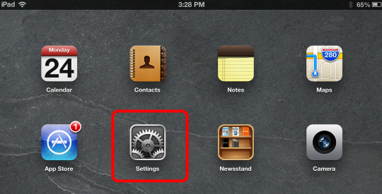 Guided Access—Kiosk Mode for FileMaker Go on the iPhone or iPad (3/6)