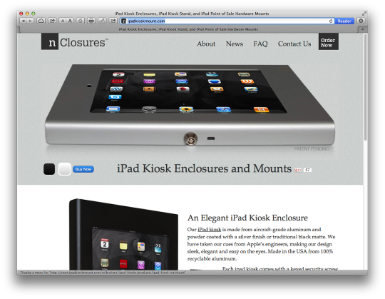 Guided Access—Kiosk Mode for FileMaker Go on the iPhone or iPad (2/6)