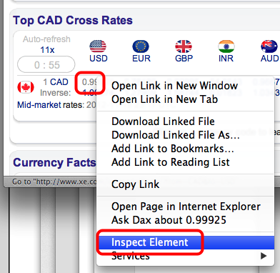 Getting Foreign Exchange Rates into FileMaker (3/6)