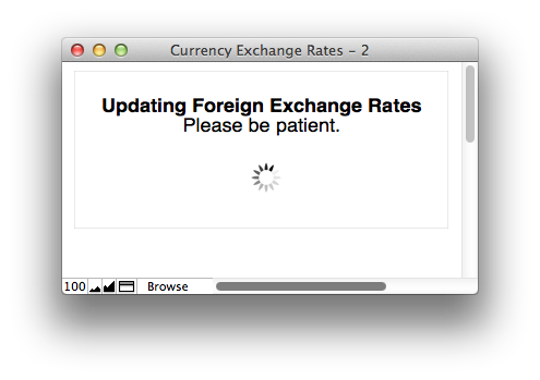 Getting Foreign Exchange Rates into FileMaker (6/6)