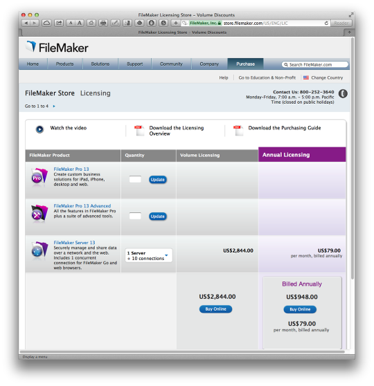FileMaker Pro 13 - First Thoughts (1/6)