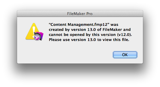FileMaker Pro 13 - First Thoughts (5/6)