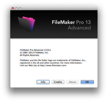 Filemaker Pro 12 Advanced For Sale
