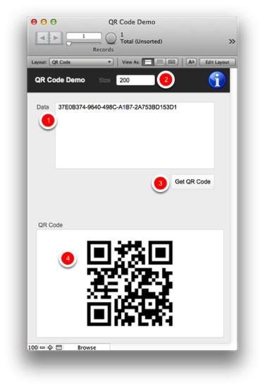 QR Codes in FileMaker 12 & 13 — No Plug-ins, No Custom