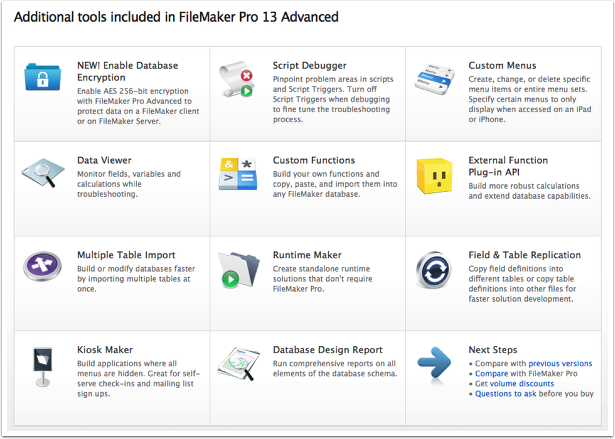 Tools for New FileMaker Developers – How to make a million bucks