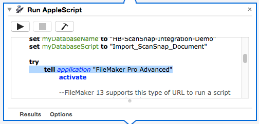 Speedy Document Scanning Directly into FileMaker Pro 13 | HomeBase