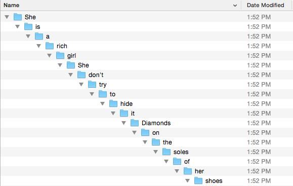 Sub-Folders